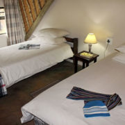 chalet loft room