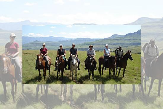 drakensberg horse rides