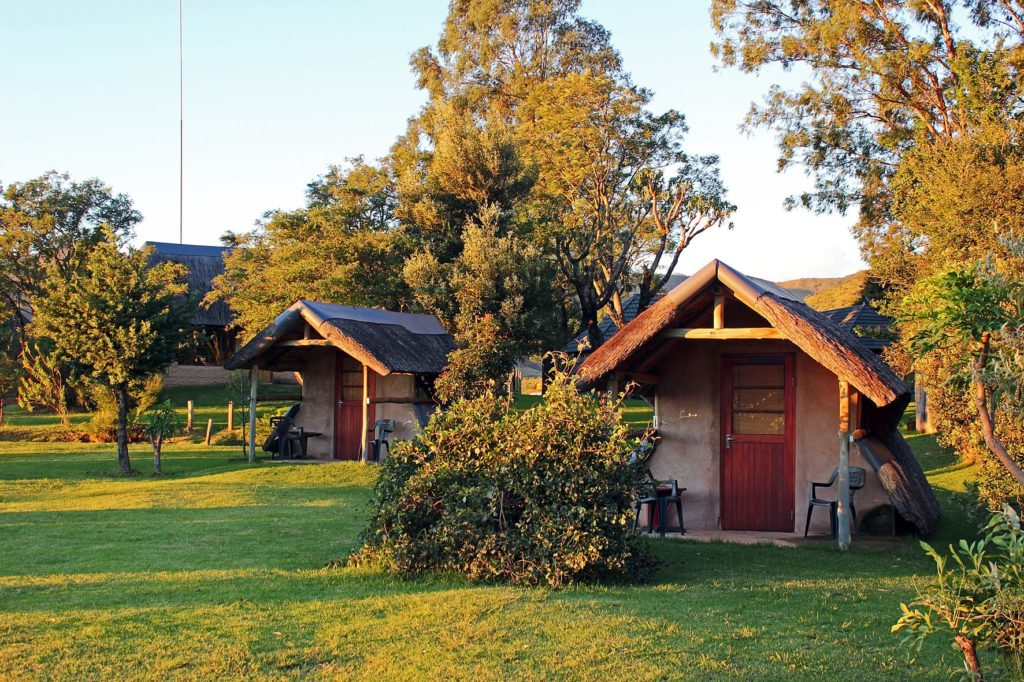 Rustic Aframe Hut