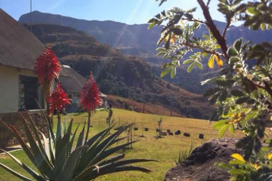 Sungubala Eco Camp in the mountains